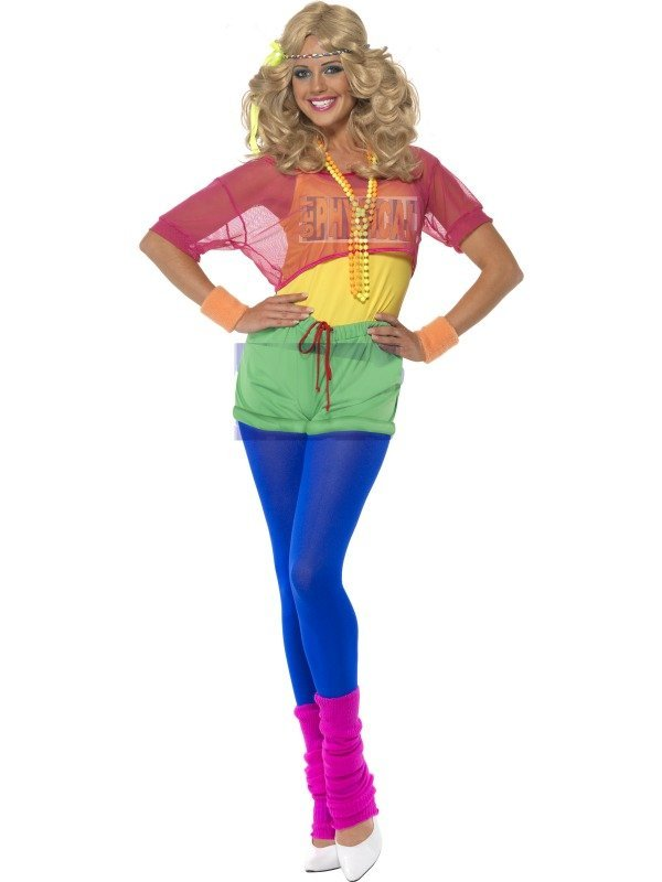 80's Let's Get Physical Costume