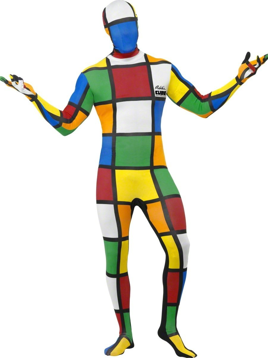 80s Rubik's Cube Second Skin